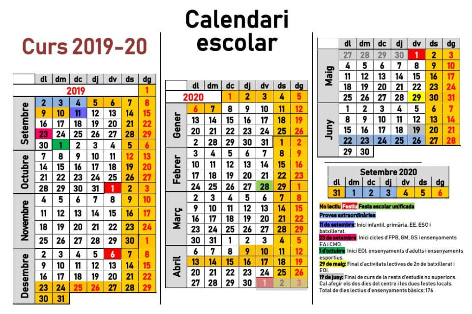 calendario-escolar-baleares-2019-2020