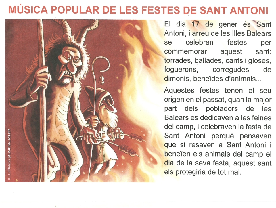 MÚSICA DE SANT ANTONI